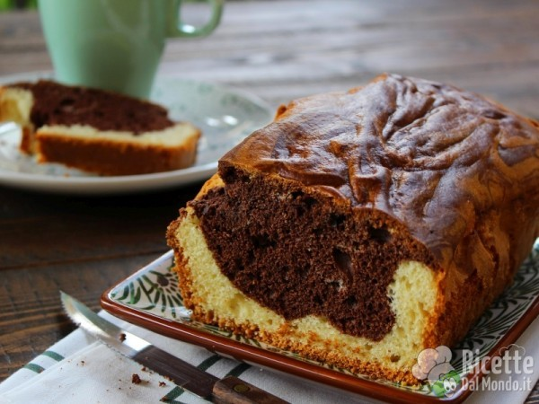 Ricetta plumcake variegato al cioccolato