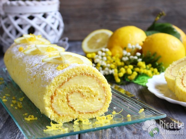 Come fare il rotolo al limone