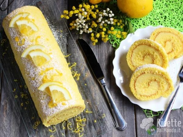 Ricetta rotolo al limone freddo