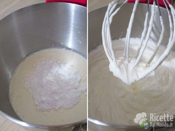 Torta fredda di yogurt e pesche 4