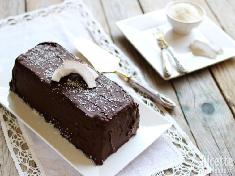 Torta gelato Bounty al cocco