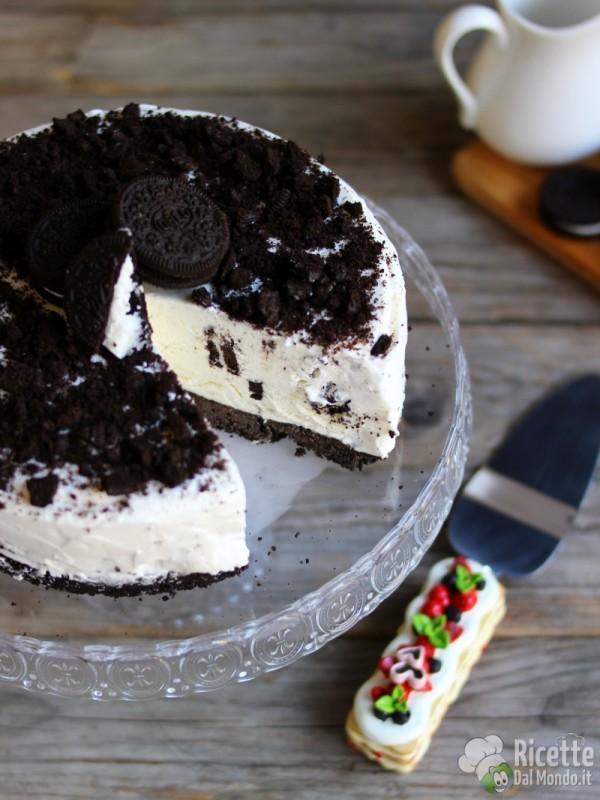 Buonissima torta gelato Oreo