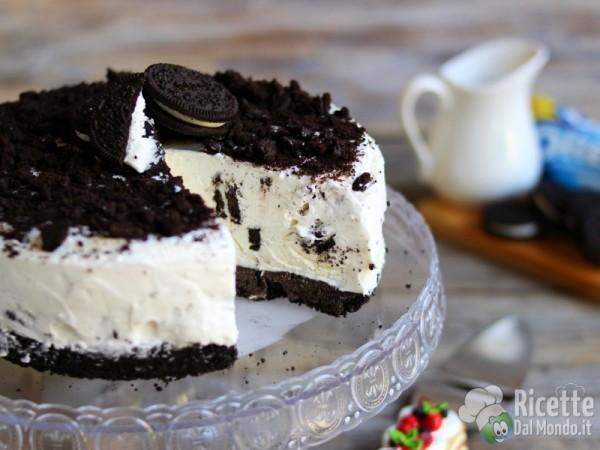 Torta gelato con gli Oreo