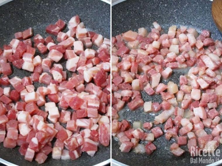 Crostata di pasta brisè con zucchine e bacon 2
