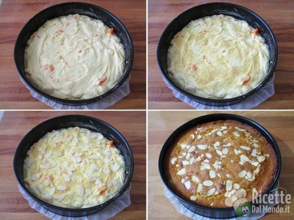 Torta soffice di albicocche fresche 6