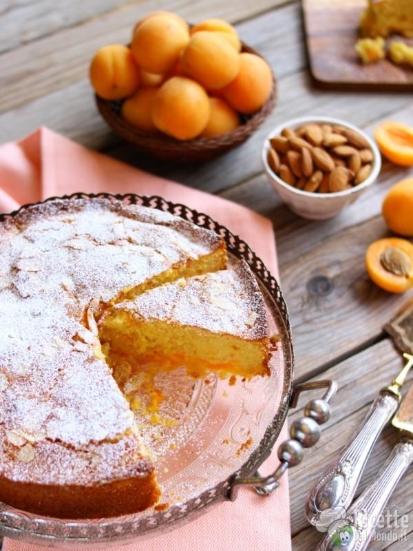 Ricetta torta di albicocche fresche
