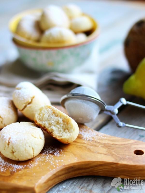 Semplici biscotti cocco e limone
