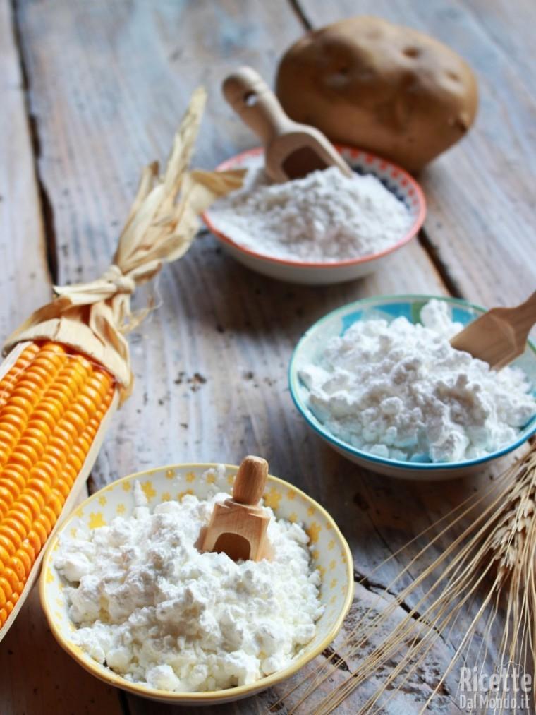 Frumina, fecola, maizena: le differenze e come sostituirli