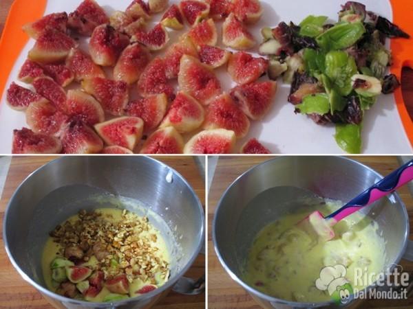 Torta soffice con fichi freschi e yogurt greco 4