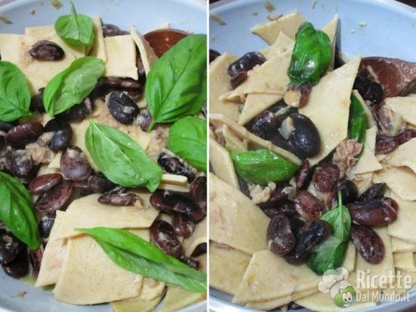 Pasta integrale tonno e fagioli 9