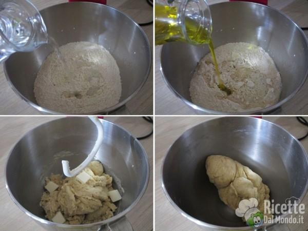 Focaccia soffice con fichi e crudo dolce 3