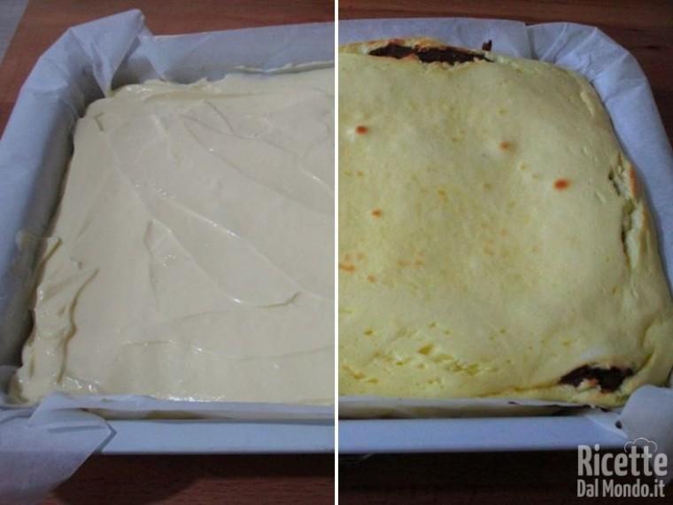 Cheesecake su base di brownies 5