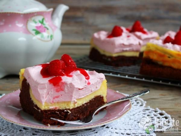 Ricetta brownies cheesecake