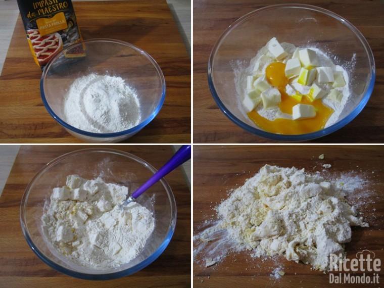 Torta di mele e crema 2