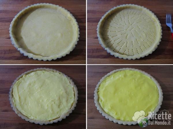 Crostata di mele e crema 6