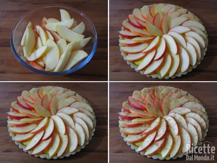 Crostata di mele e crema 7