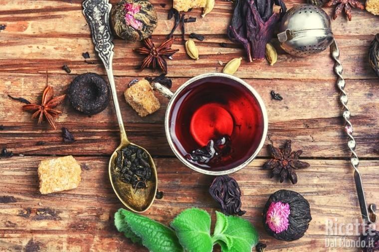Tipi di tè: il tè rosso