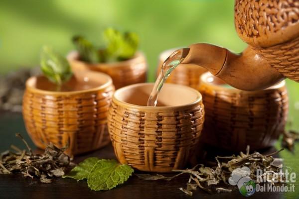 Tipi di tè: il tè verde