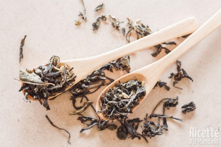 Tipi di tè: il tè verdazzurro