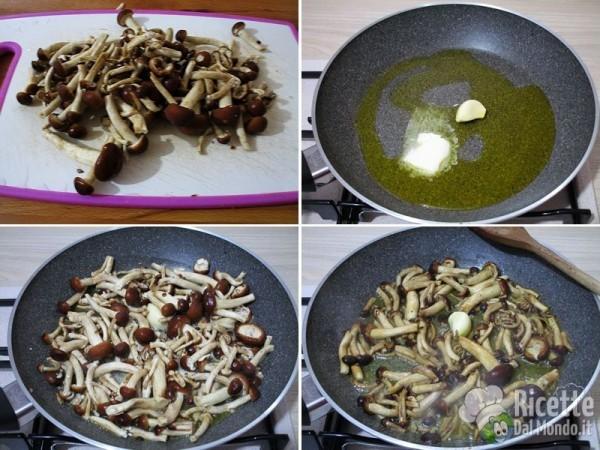 Frittata con salsiccia e funghi 2