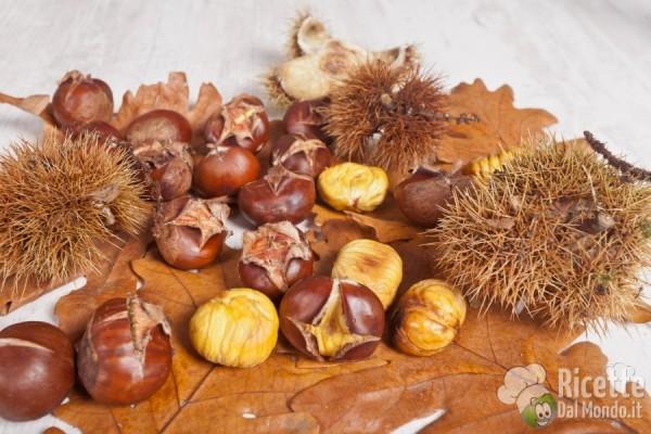 Frutta e verdura di ottobre: caldarroste