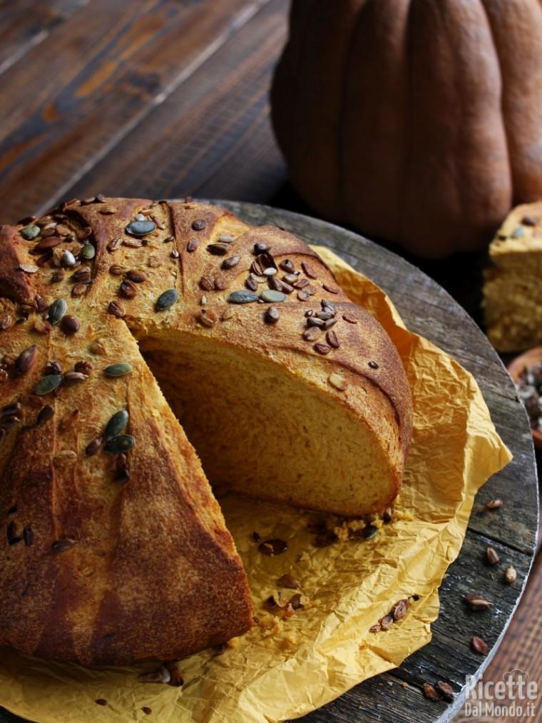 Pane alla zucca fatto in casa