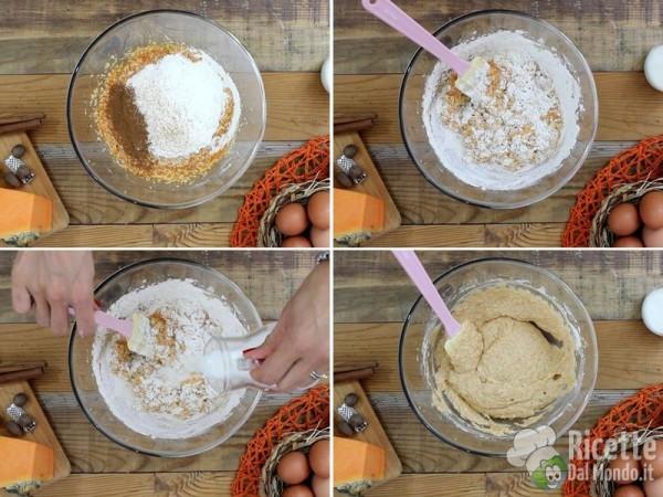 Muffin dolci alla zucca 4