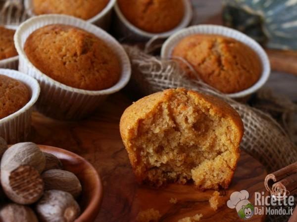 Ricetta muffin alla zucca per Halloween