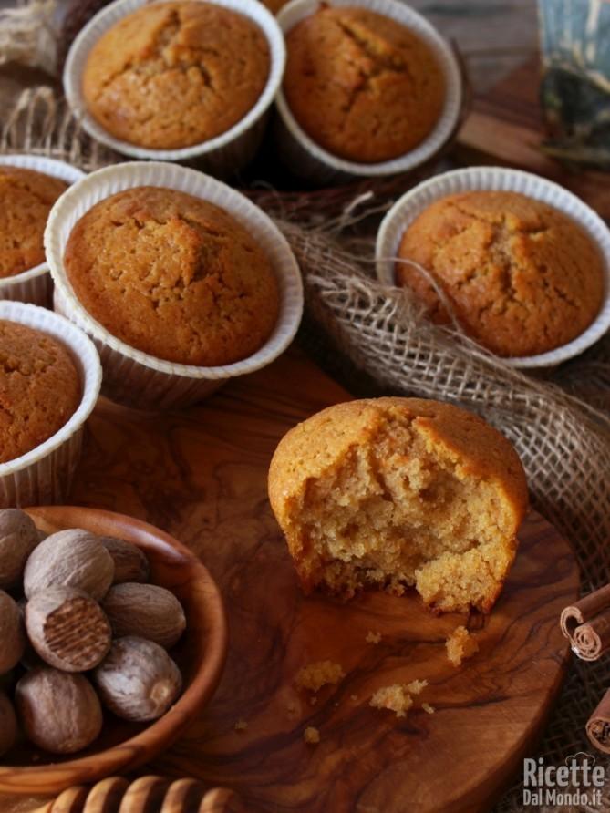 Come fare i muffin alla zucca