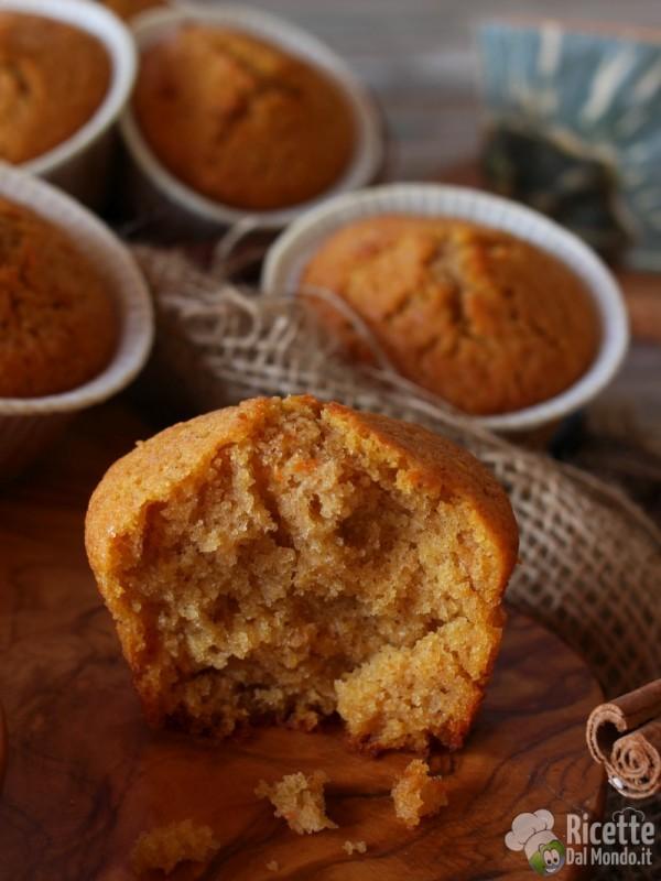 Muffin alla zucca dolci per Halloween