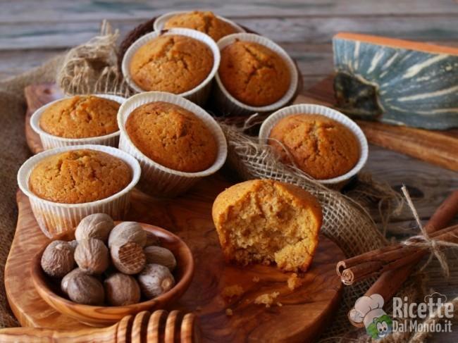 Ricetta Muffin alla zucca