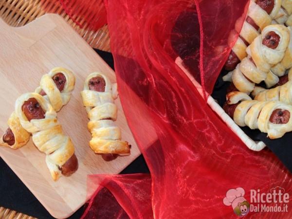 Wurstel mummia: ricette di Halloween