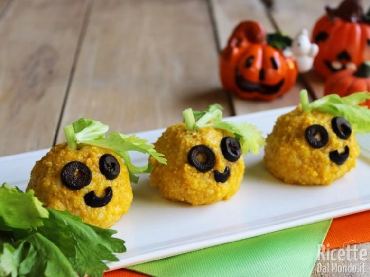 Zucchette di riso: ricette di Halloween