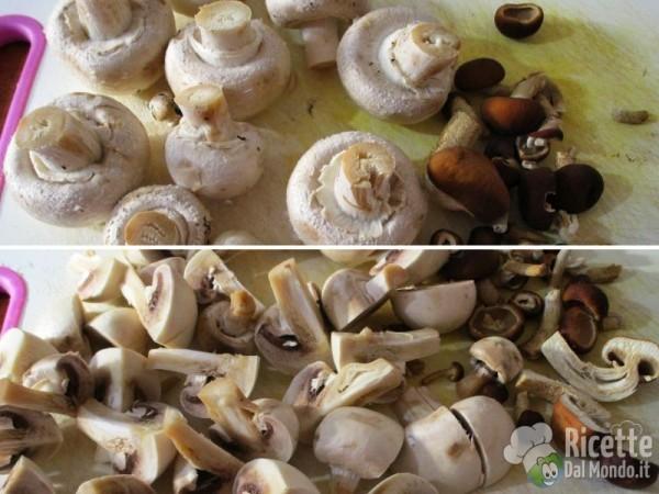 Funghi misti in umido 2