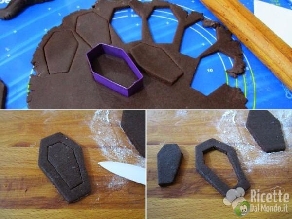 Frollini bara di cioccolato di Halloween 4
