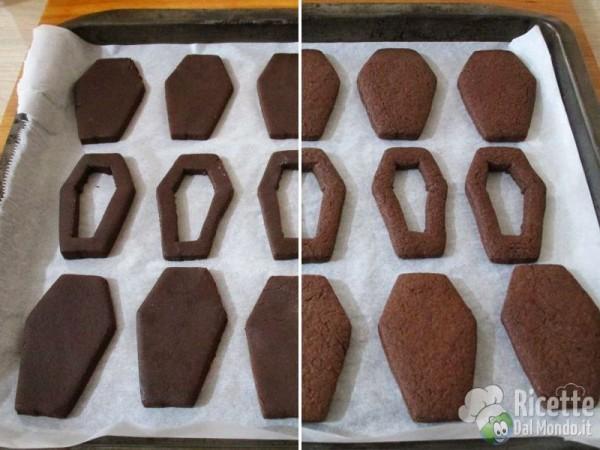 Frollini bara di cioccolato di Halloween 5