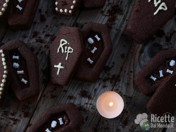Ricetta biscotti bara al cioccolato