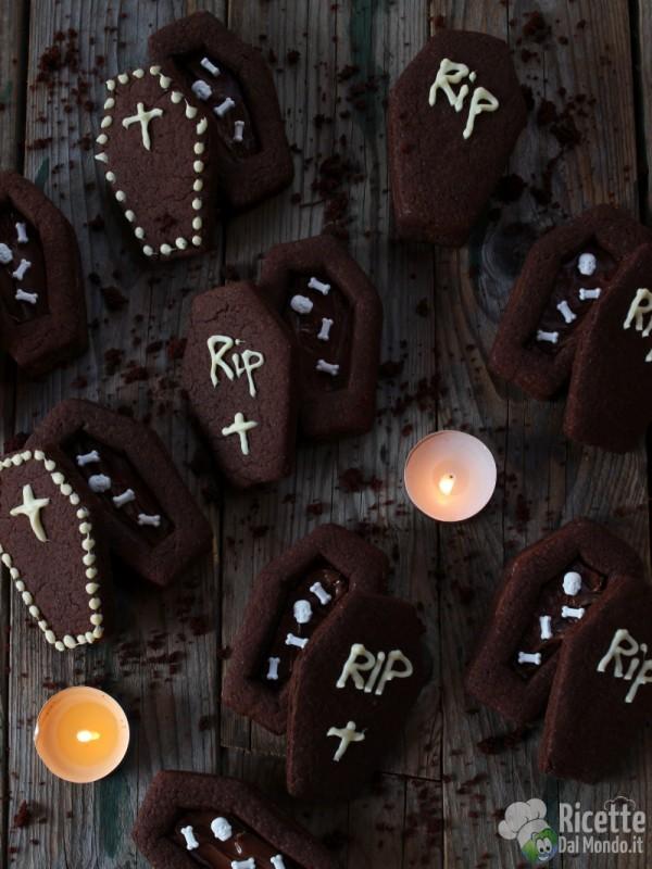 Ricetta dei biscotti bara al cioccolato