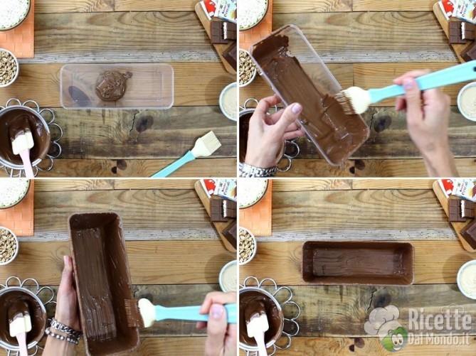 Torrone morbido al cioccolato kinder cereali 3
