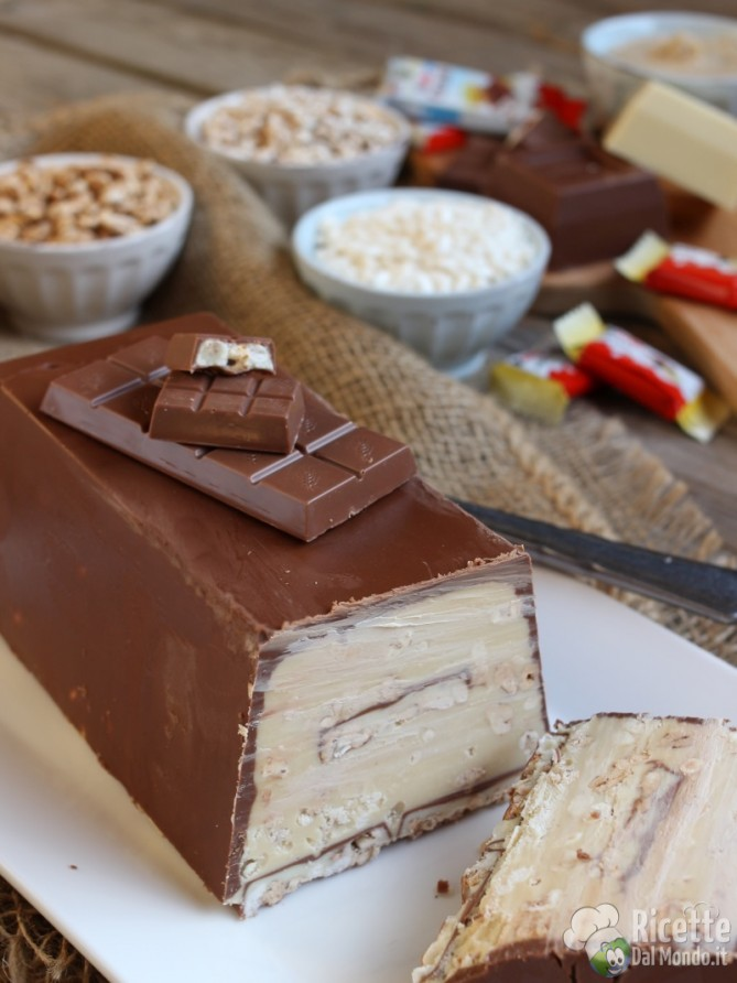 Come fare il torrone dei morti al kinder cereali