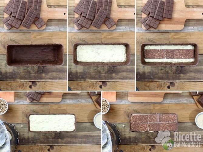 Torrone morbido al cioccolato kinder cereali 8