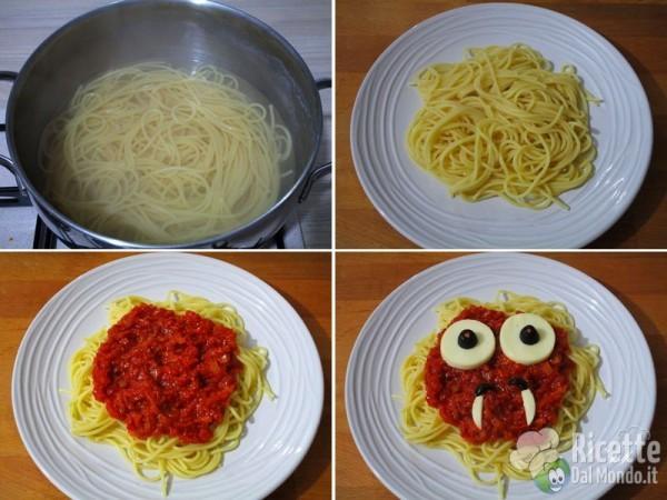 Spaghetti di Halloween di Dracula 4