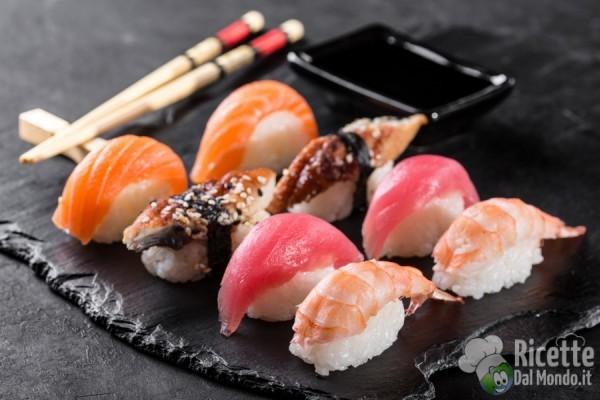 Tipi di sushi: nigiri o nigirizushi