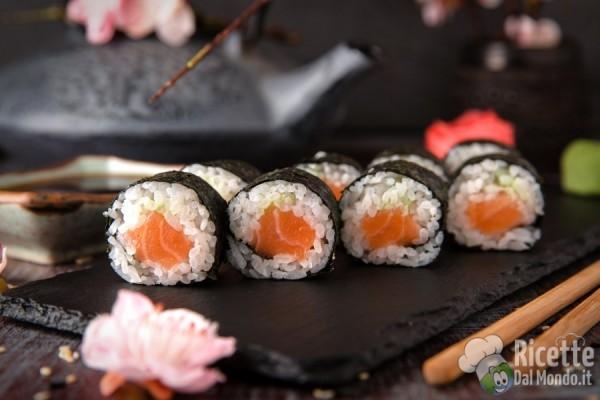 Tipi di sushi: hosomaki
