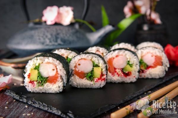 Tipi di sushi: futomaki