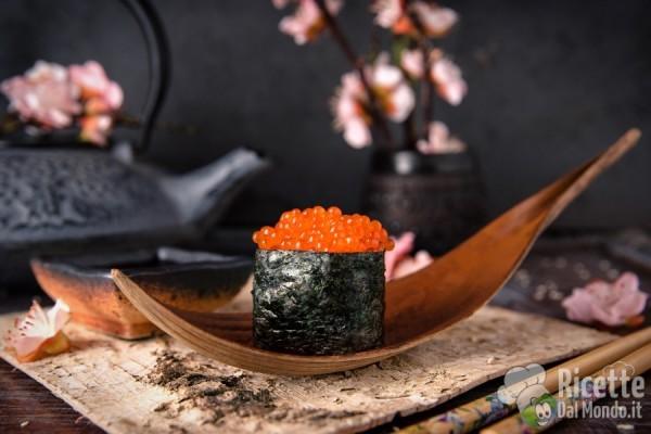 Tipi di sushi: gunkan o gunkanmaki