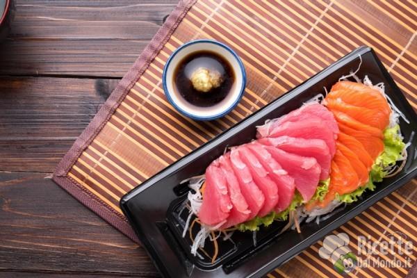 Tipi di sushi: sashimi