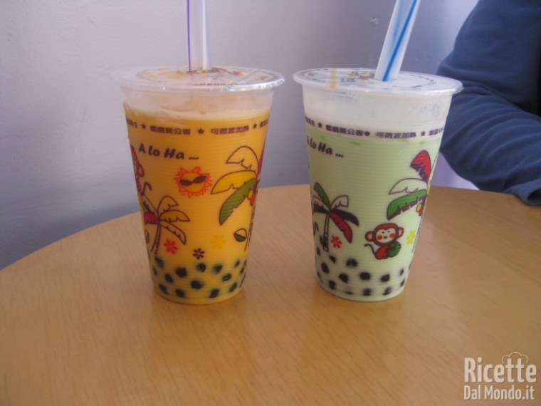 Bubble tea, la nuova moda