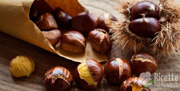 Frutta e verdura di novembre: le castagne