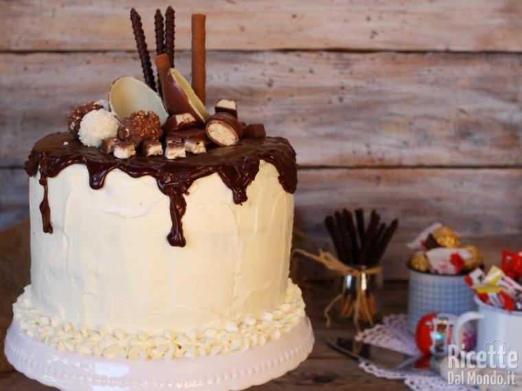 Ricetta Drip cake